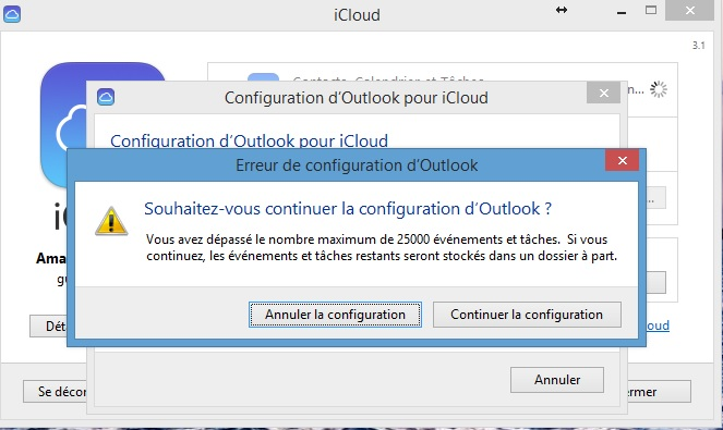 Synchroniser Calendrier Outlook Iphone Sans Itunes.Synchronisation Impossible Entre Outlook 2013 Et Icloud