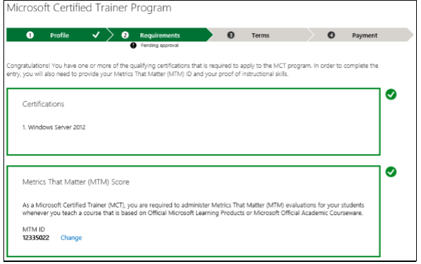 MTM ID Incorrect - Training, Certification, and Program Support