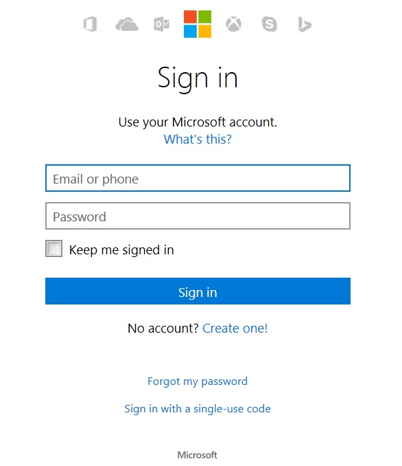 Autocomplete not working in new Microsoft Account signin screen ...