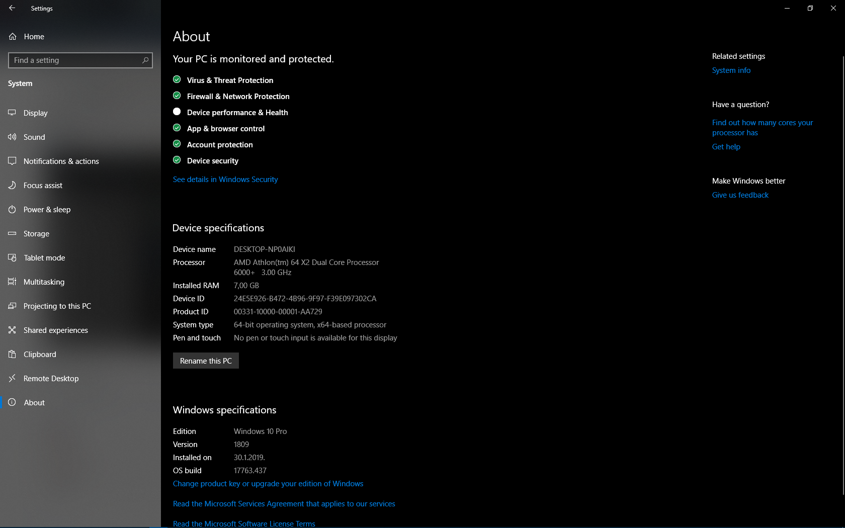 Windows 10 Pro problems  Some settings are managed by your