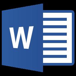 Icono de Microsoft Word