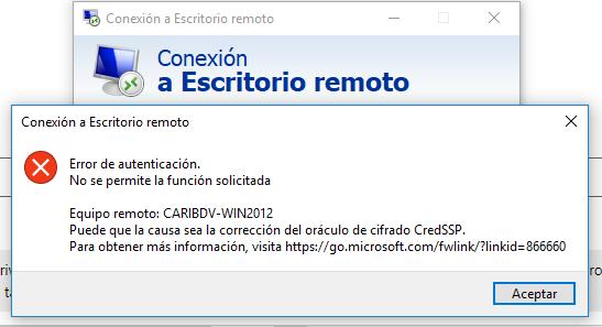 Windows 10 Correccion Del Oraculo Decifrado Credssp Microsoft
