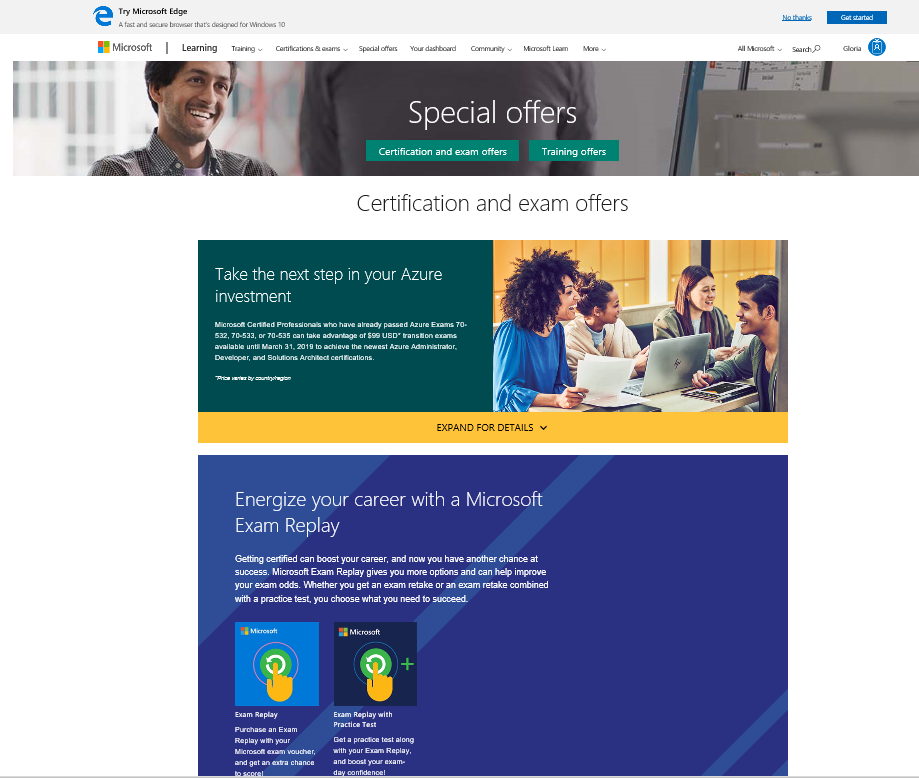 Microsoft Surface Pro Discount Training Certification And