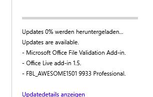 Windows Update Error (0x8024a10c) Meldung in windows 10 Build 9926