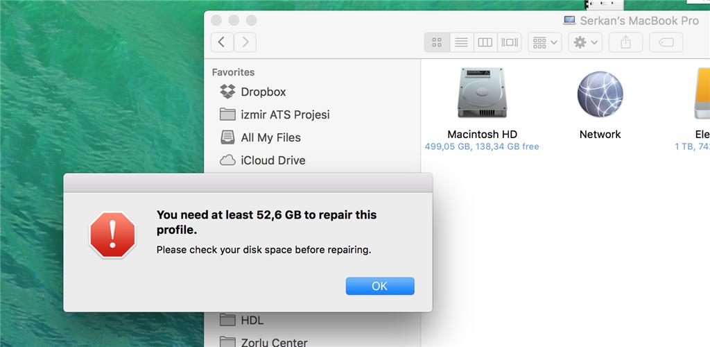 Macintosh Hd Won T Repair