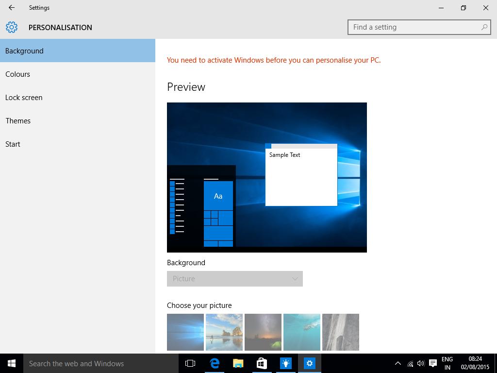 Смена Обоев На Рабочем Столе Windows 10