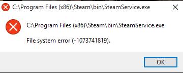 Windows 10 error -1073741819 - Microsoft Community