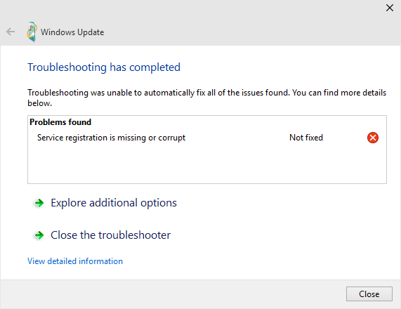 Windows 10 pro insider preview build 10074 error on checking for image image ccuart Images
