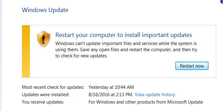 Windows 7 Professional stuck in restart loop after rolling back from
