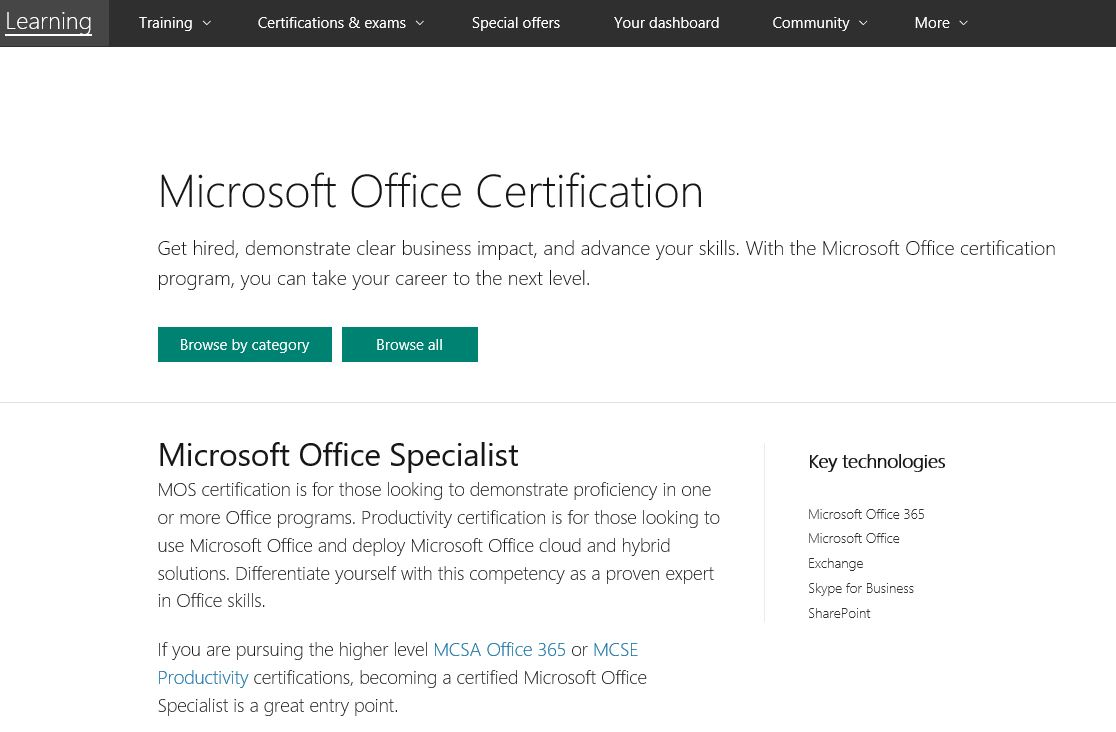 Mastering Microsoft Certification Exam Prep Training