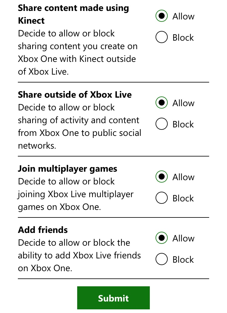 Xbox won't let me change privacy settings - Microsoft Community
