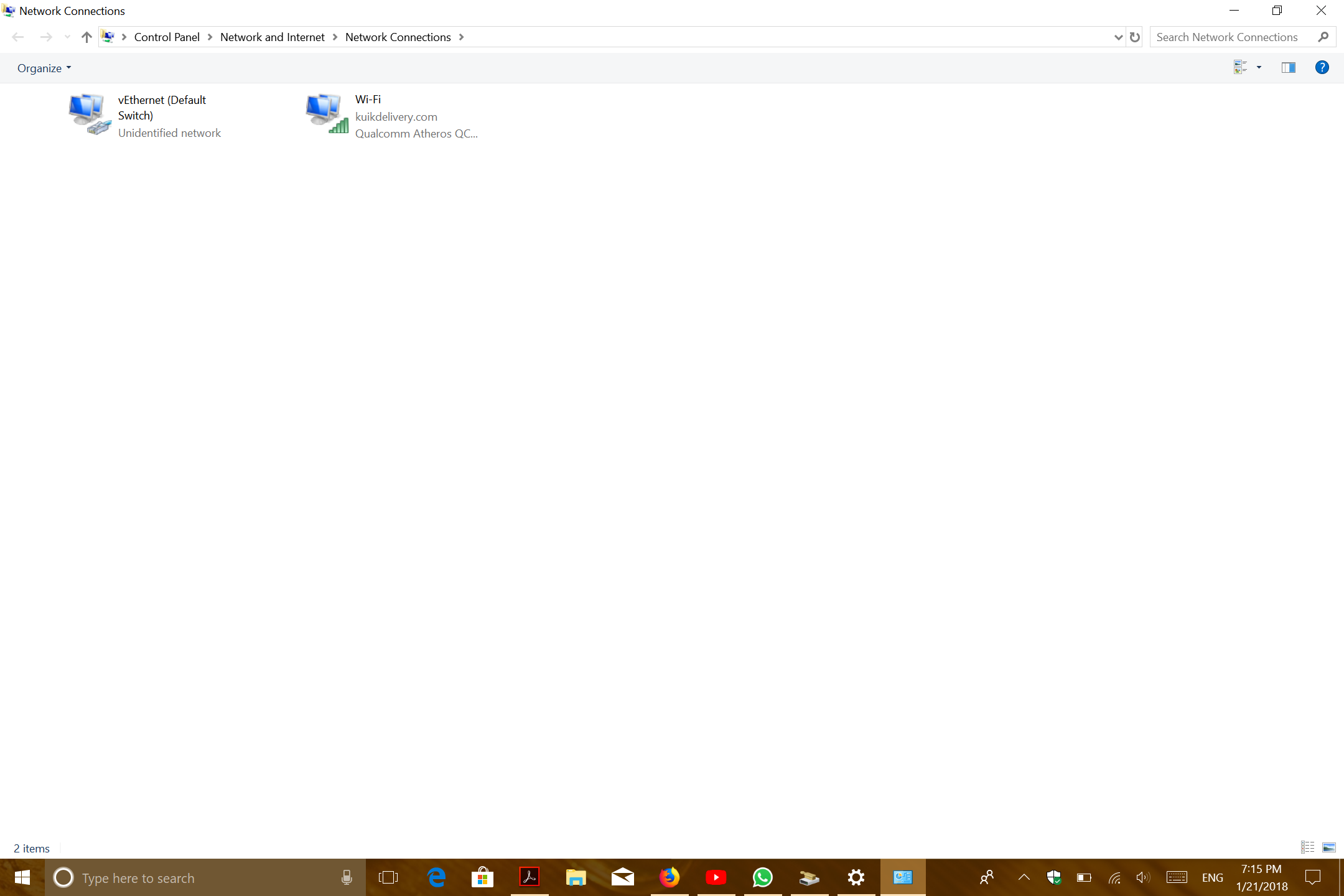 kuikdelivery in my wifi network - Microsoft Community