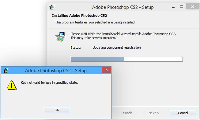 photoshop cs2 and windows 10