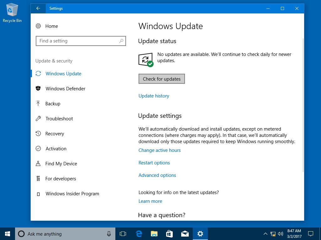 download windows 10 update 1803 offline installer