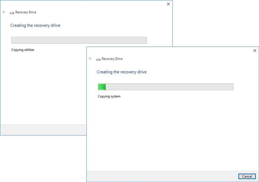 how can i make a recovery disk for windows 10