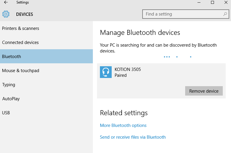 Bluetooth Headphones Connected But Not Available As Playback Device Microsoft Community
