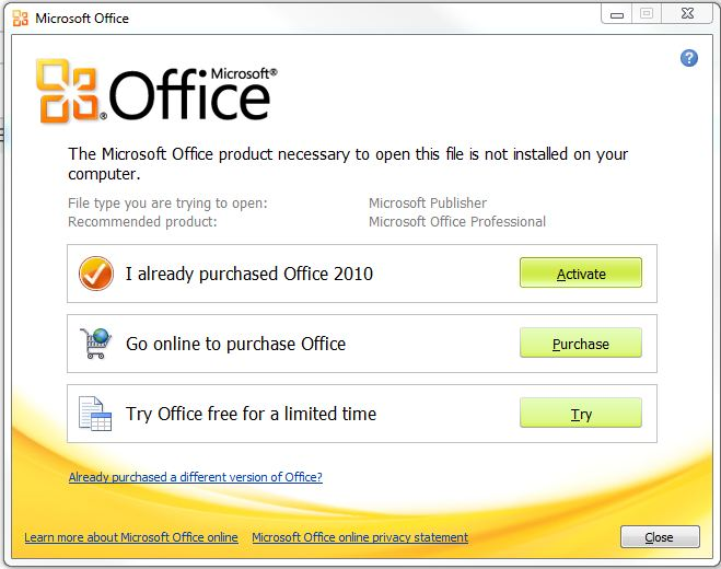 microsoft office publisher 2010 product key