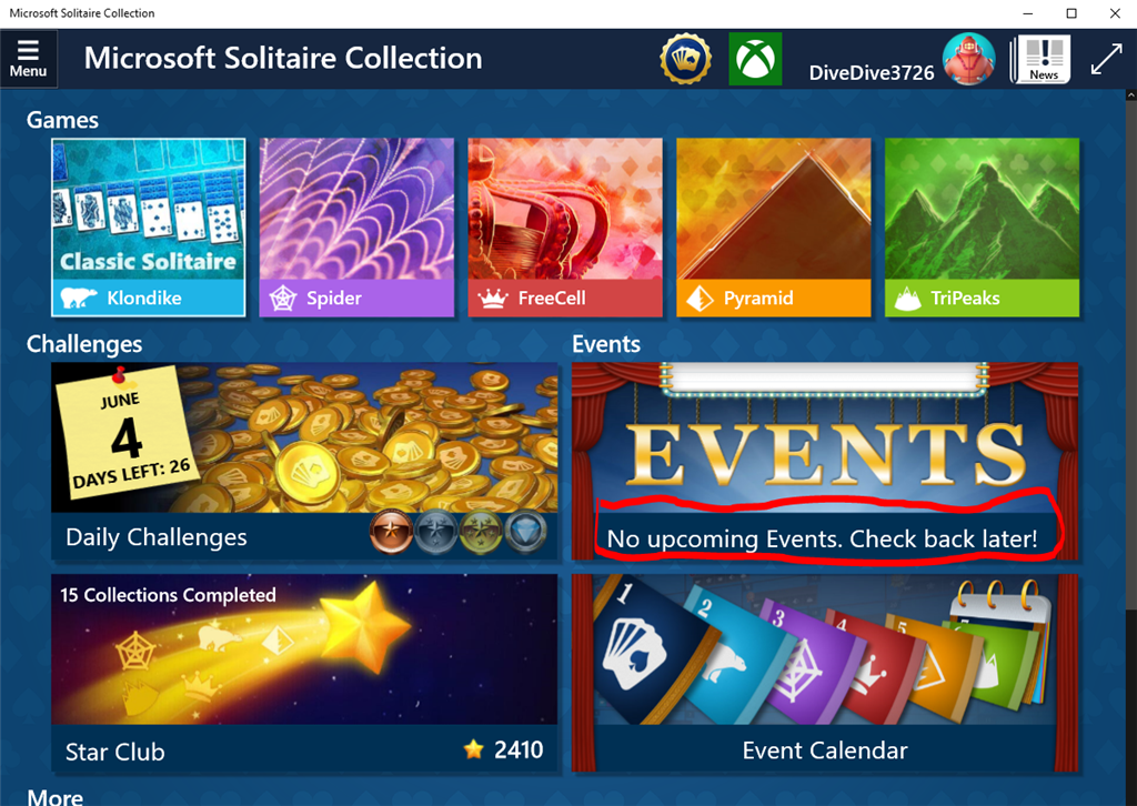 Microsoft Solitaire Collection Lösung