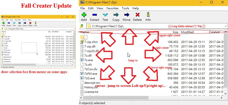 Mouse cursor jump to screen corner when draw selection box from some