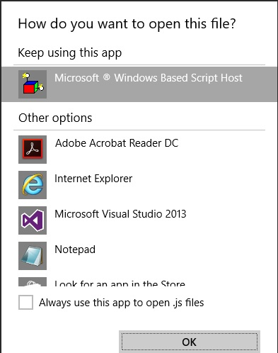 Pop Up: Windows Based Script Host - Microsoft Community