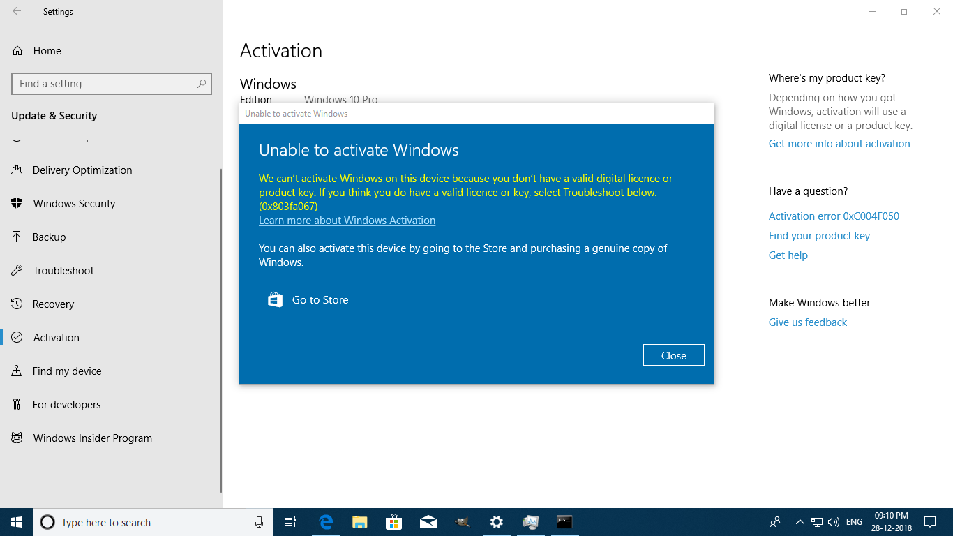 windows 10 will expire soon 2018