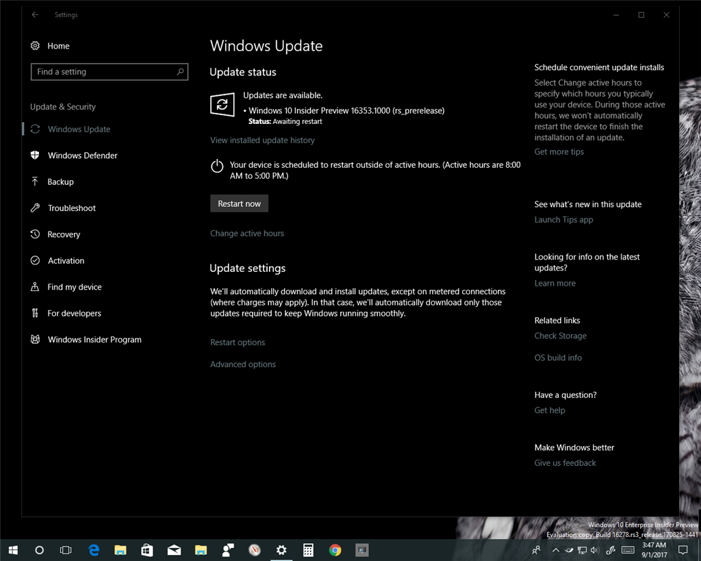 Here is the tutorial how to switch back from rs3 to rs4 skip ahead to next release for windows 10 insiders in fast ring windows 10 windows update activation tutorials image baditri Choice Image