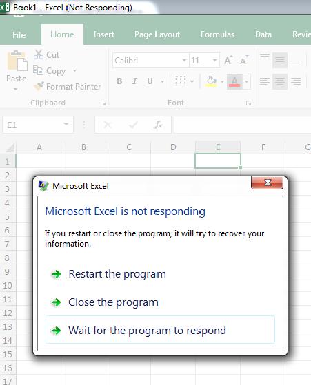 Excel 365 crashes when adding