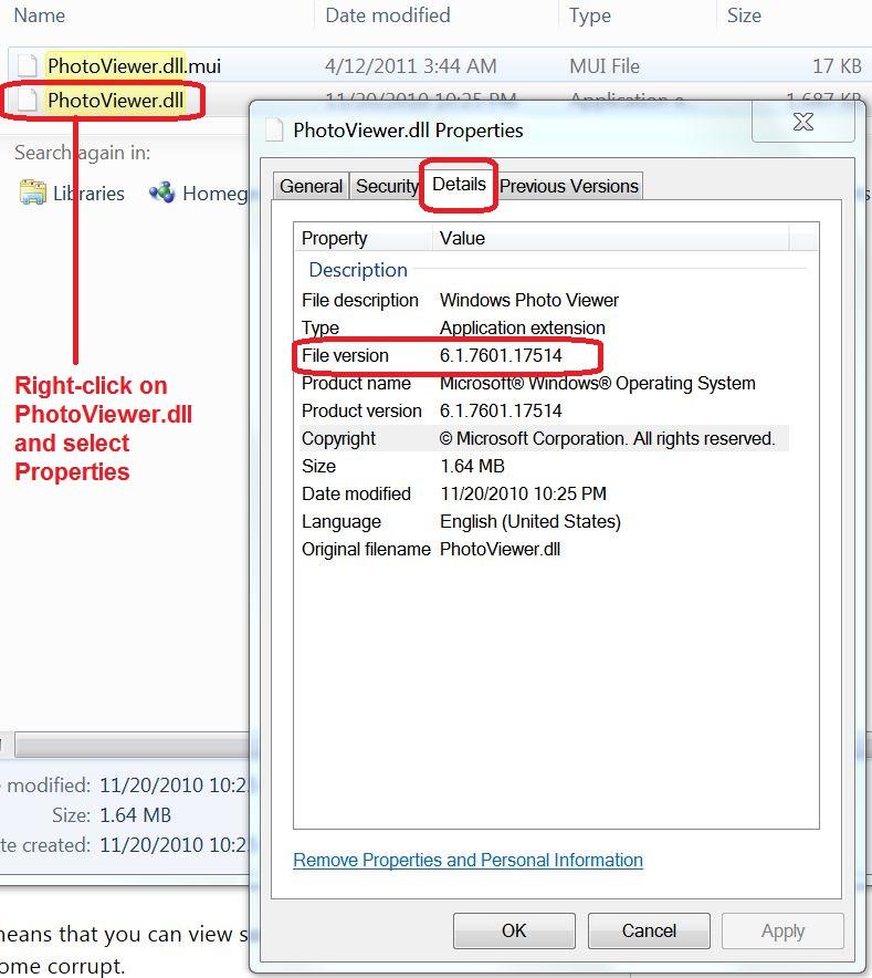 How to update Photo Viewer in Windows 7? - Microsoft Community