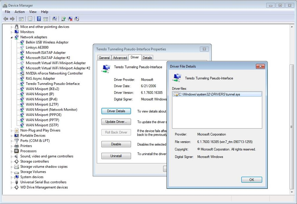 TUNNEL SYS DRIVERS FOR WINDOWS 8