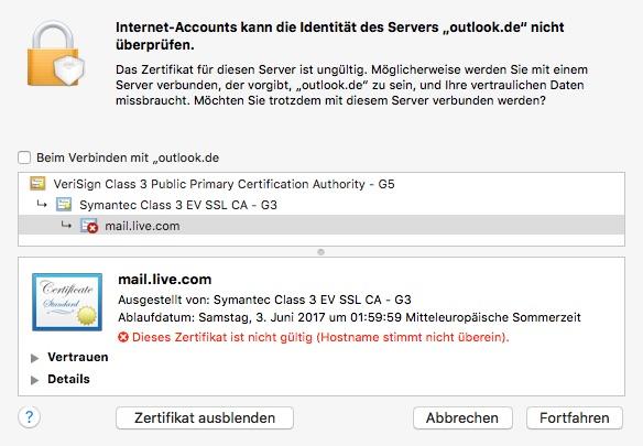 Neues Outlook.com: Exchange Active Sync funktioniert nur mit .com ...
