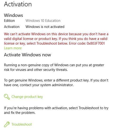 Activate windows message microsoft community image ccuart Choice Image