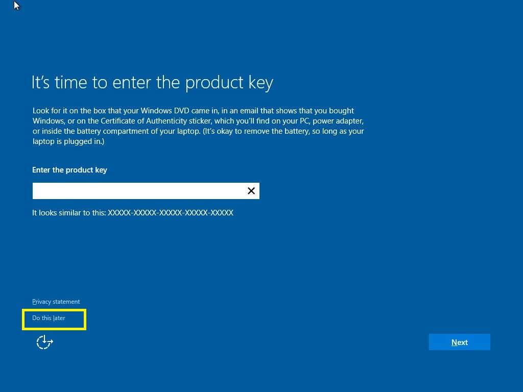 How to troubleshoot product activation in windows 10 microsoft verify if you have the latest windows 10 build installed ccuart Gallery