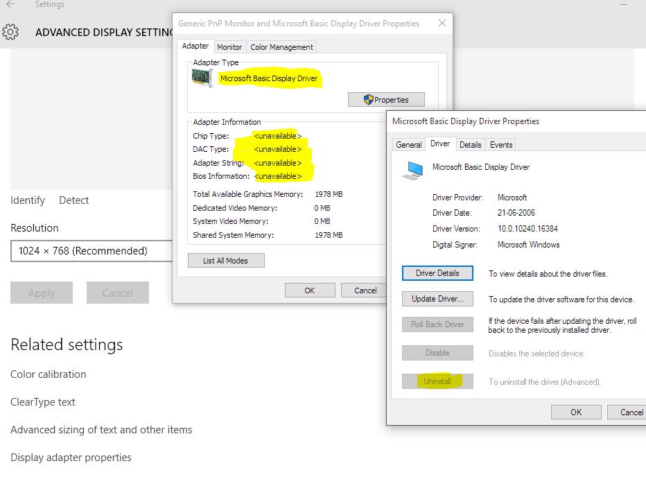 ATI Radeon Mobility HD 4500 - Driver update on Windows 10