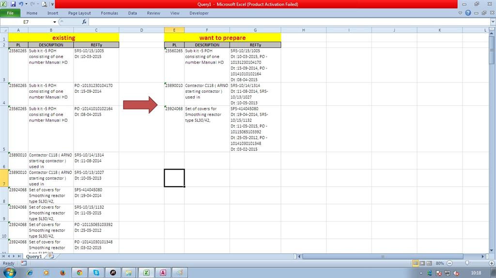 Ms access join  MS Access 2003: Concatenate two fields in a
