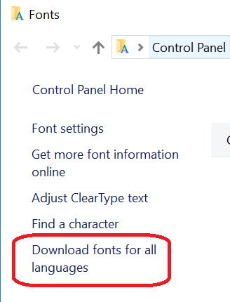 Some fonts are missing after upgrade - Microsoft Community