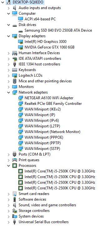 Windows 10 Consistent Blue Screen Error - Windows had encountered a
