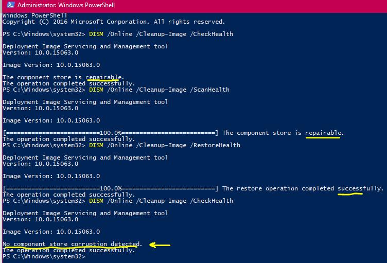 Windows 10 Performance and Install Integrity Checklist - Microsoft