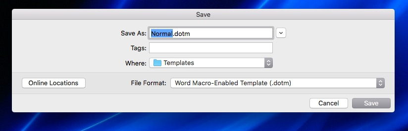 Word Quit And The Normal Template Erases Microsoft Community