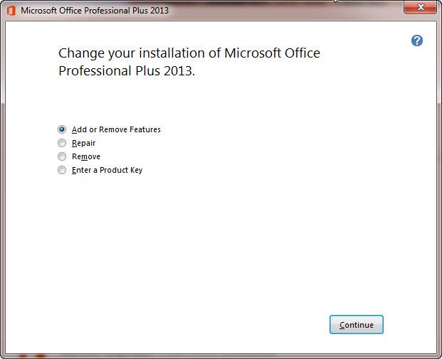 office 2013 remove key