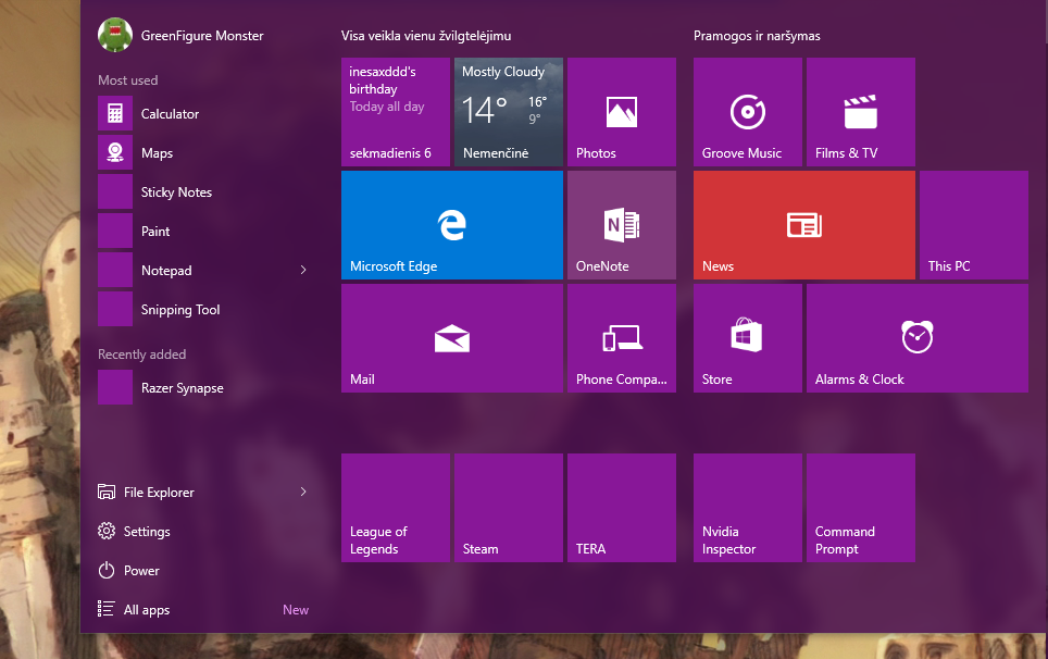 Windows 10 Start screen tile icons missing - Microsoft Community