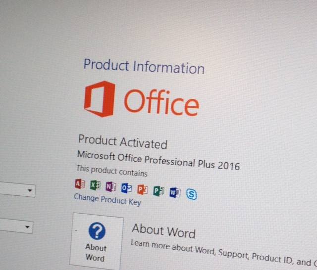 how to disable activation wizard in microsoft office 2016