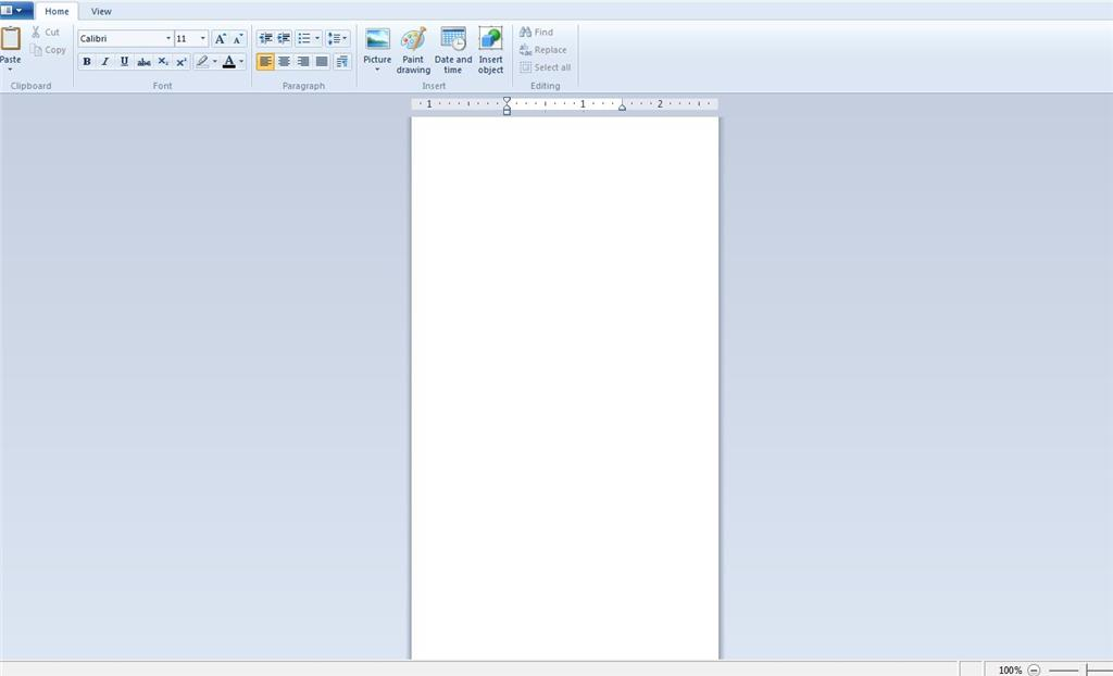 Rich text files open in wordpad but in a very narrow format
