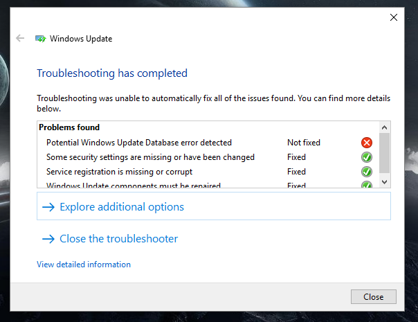 Windows 10 update is stuck at 30% after restart - Microsoft Community