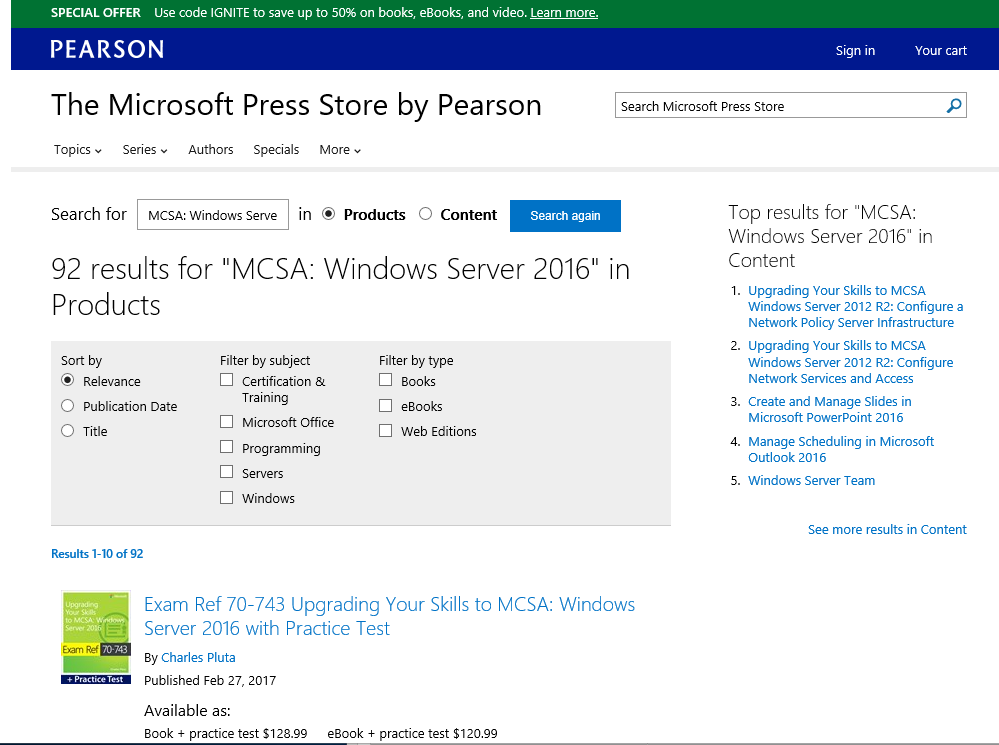 Prerequisite Knowledge For Mcsa 2016 Windows Server Training
