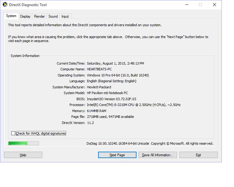 DirectX version still displaying DX11 2 instead of 12 - Microsoft