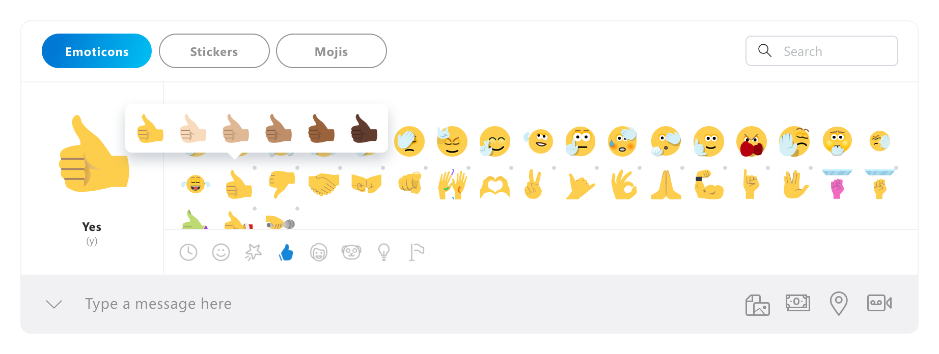 Skype Insider Preview // Introducing The New Emoticon Picker
