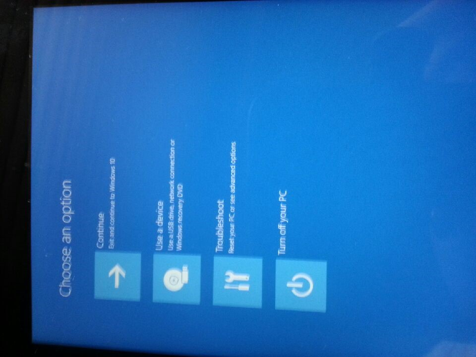 Linx 7 tablet - Windows 10 update - now touch screen isn't