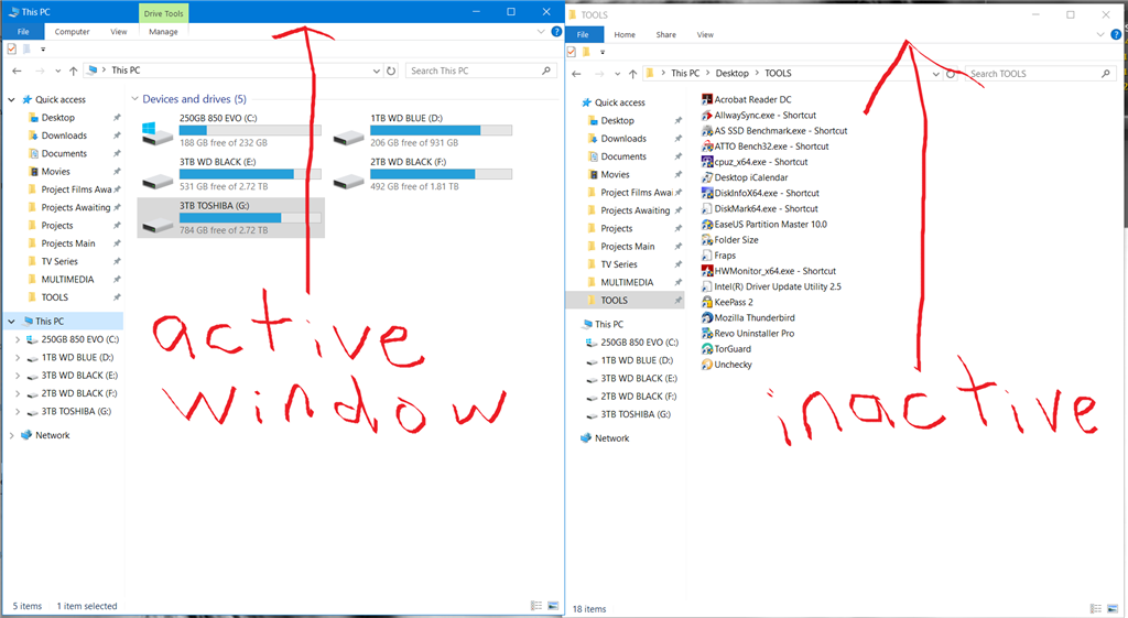 How do I change the Title Bar color of ALL Windows 10