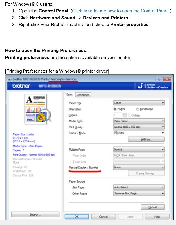 Will Windows 10 Fix Duplex Printing Compatibility Issues With Brother Microsoft Community