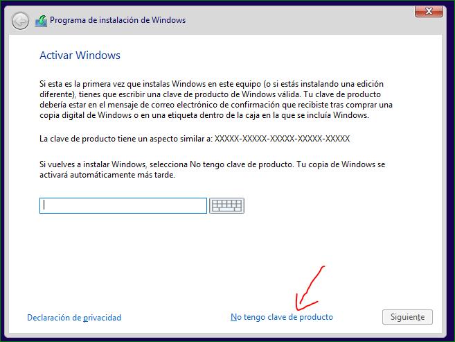 Recuperar licencia de Windows después de formatear - Microsoft Community